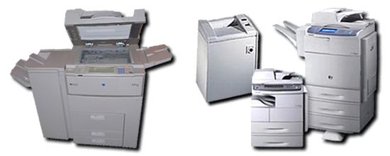 Repairs/Sales/Supplies for Copiers-Printers
