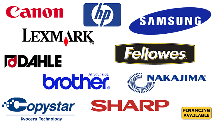 Repairs/Sales/Supplies for Laminators-Faxes-Typewriters